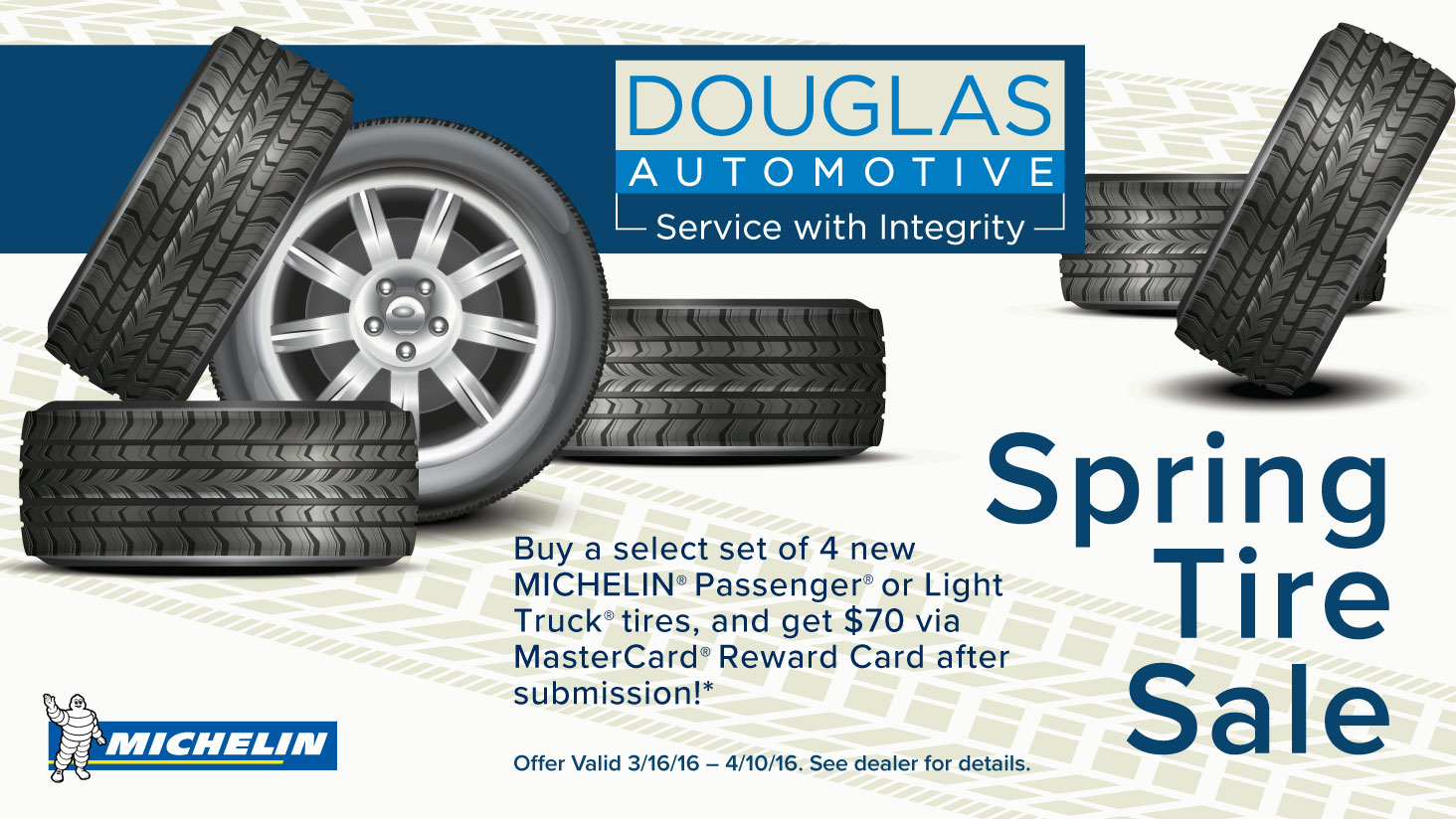 Spring Tire Sale | Douglas Automotive