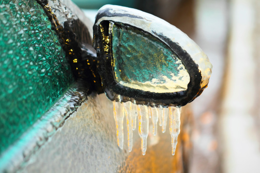 Ice buildup can cause blockage from A/C