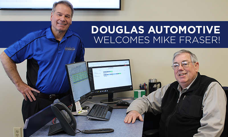 Douglas Automotive Welcomes Mike Fraser