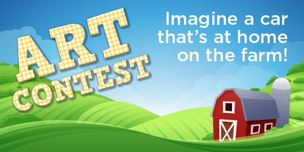 "Nearly 300 Local Students ""Head Out to the Farm"" for the 2019 Art Contest!"