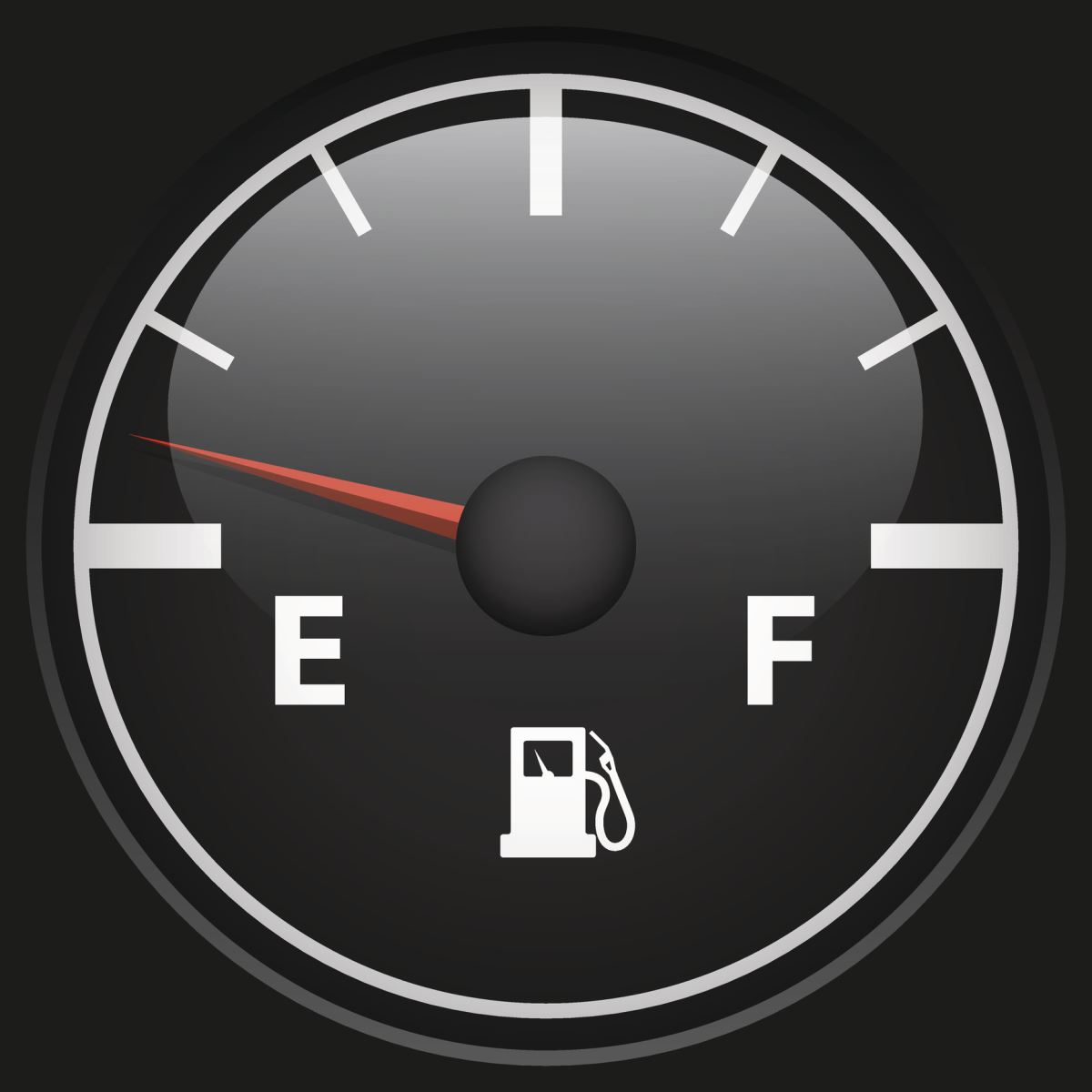 How low is too low in your gas tank?