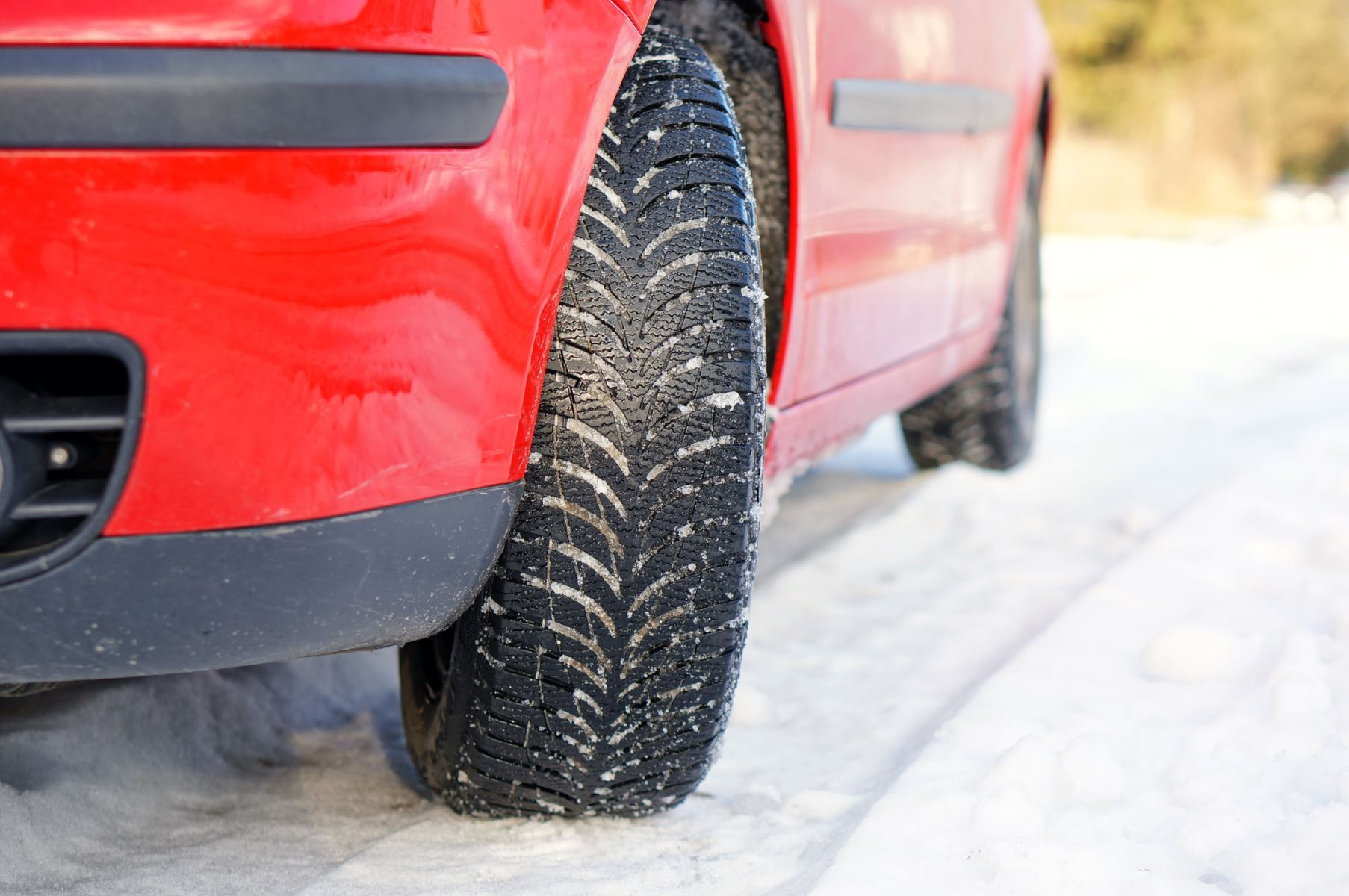 Winter tires best on performance cars
