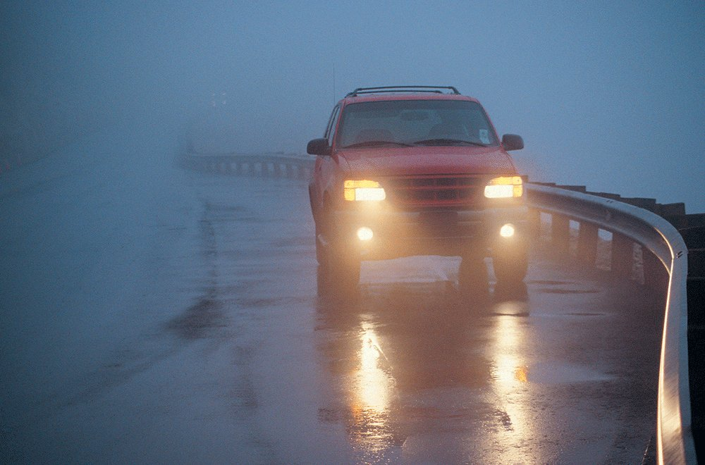 When to use your car's fog lights