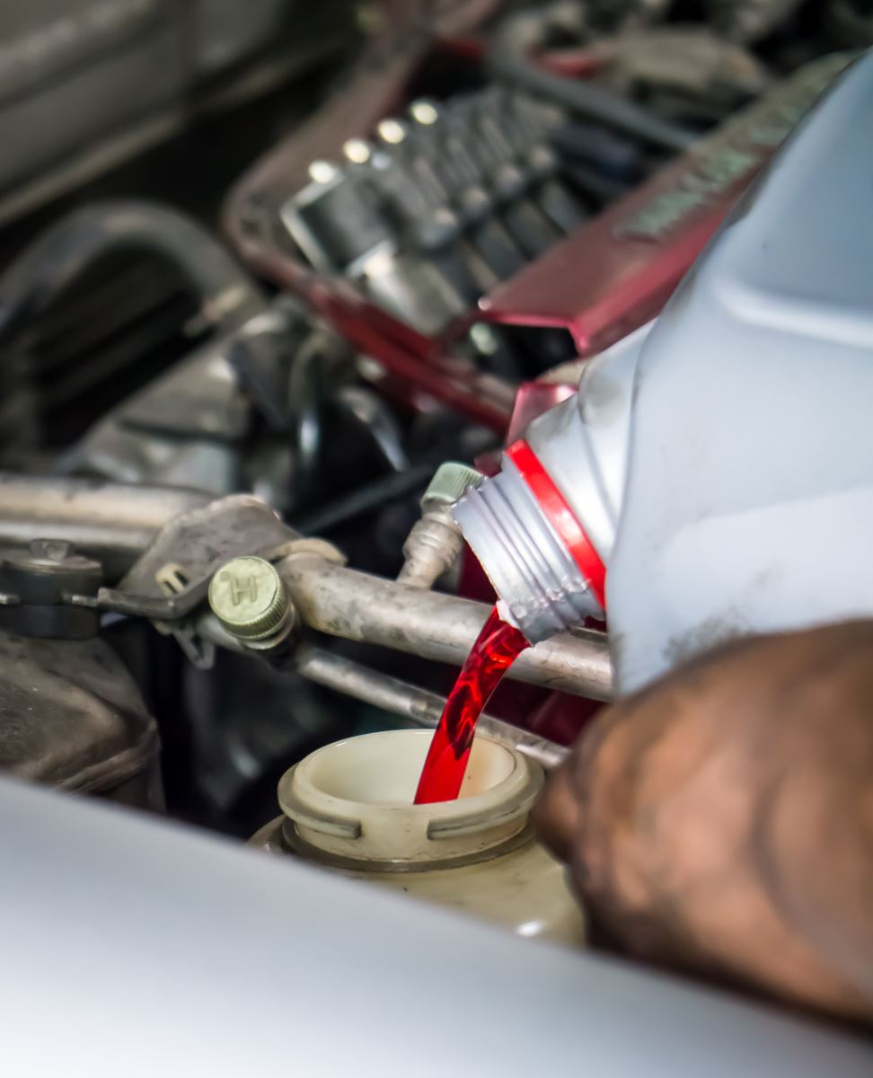 Proper technique is key to change transmission fluid
